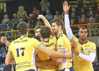 Volley, SuperLega: scivolone Trento, Modena e Verona in testa
