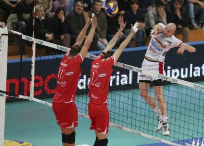 Volley, SuperLega: Trento non sbaglia e torna in vetta