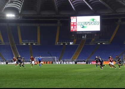 """Roma, appello della Sud: """"Con il Genoa Olimpico deserto"""""""