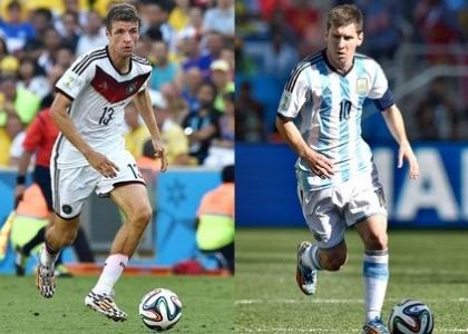 Brasile 2014: Germania-Argentina, la finale più giocata