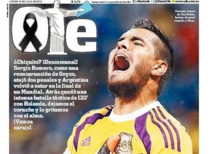 Brasile 2014: Romero, da flop a eroe dell'Argentina