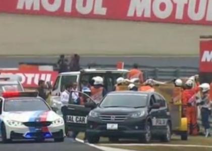 MotoGP, Giappone: botto per De Angelis ma è cosciente