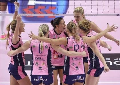 Volley, Supercoppa donne: urlo Casalmaggiore, Novara battuta