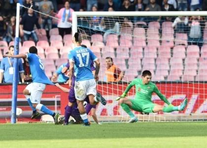 Serie A: Napoli-Fiorentina 2-1, gol e highlights. Video
