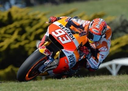 MotoGP, test Valencia: Marquez il più veloce, Rossi settimo