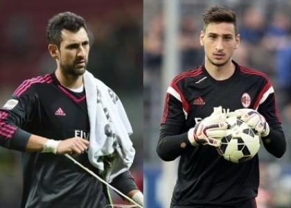 Milan: idea Donnarumma, Diego Lopez rischia il posto