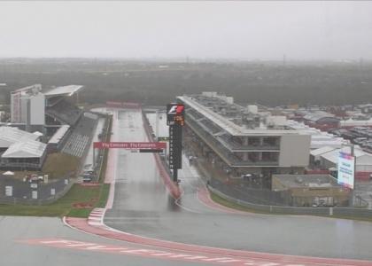 F1, Gp Stati Uniti: l'uragano cancella le seconde libere