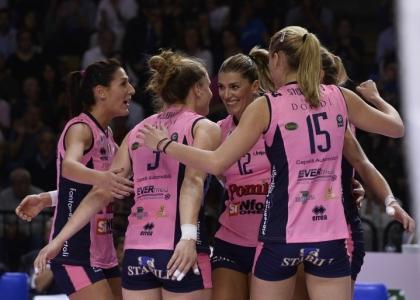 Volley, A1 femminile: Bolzano ko, Casalmaggiore torna in vetta