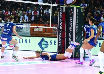 Volley, A1 femminile: scatto Bergamo, è prima da sola
