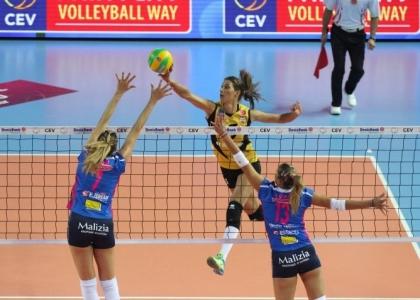 Volley, Champions donne: Novara, debutto amaro in Turchia