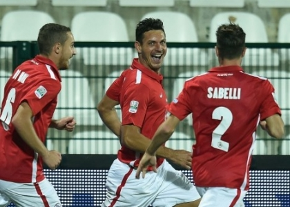 Serie B: Pro Vercelli-Bari, gol e highlights