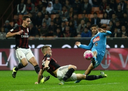 Serie A: Milan-Napoli 0-4, gol e highlights. Video