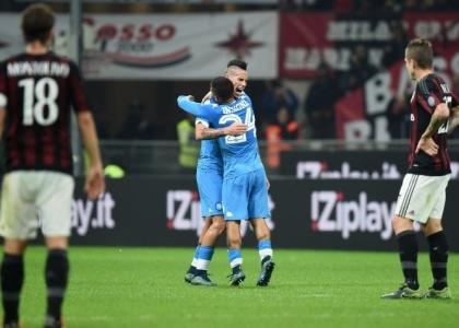 Serie A, Milan-Napoli: formazioni, diretta, pagelle. Live