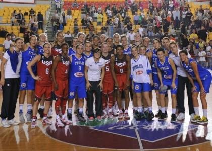 Basket femminile: Italia, bella figura con Team Usa