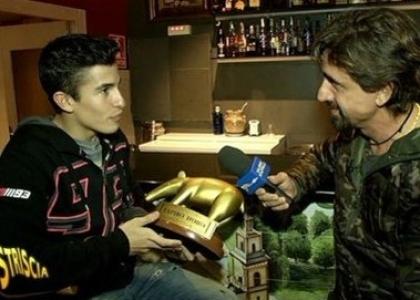 MotoGP, Tapiro d'oro a Marquez: