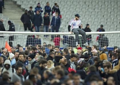 Attentati a Parigi: le immagini dello Stade de France. Foto