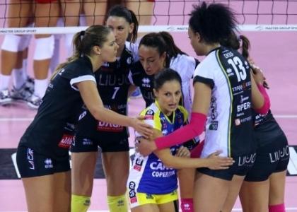 Volley, A1 femminile: Modena stende Piacenza, Bergamo vola