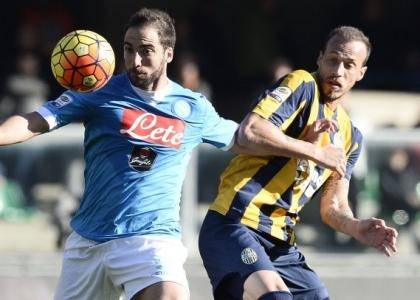 Serie A: Verona-Napoli 0-2, le pagelle