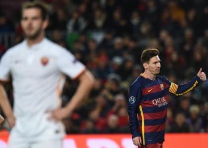 Champions: Barcellona-Roma 6-1, le pagelle