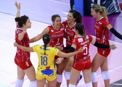 Volley, A1 femminile: Bergamo espugnata, Busto Arsizio va in testa