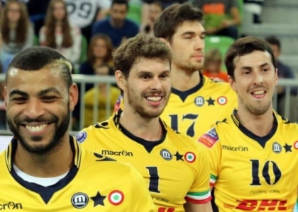Volley, SuperLega: cade Civitanova, Modena fa festa