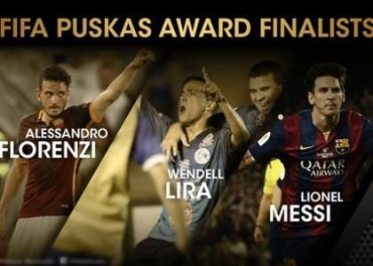Fifa Puskas Award: Florenzi sfida Messi. Video