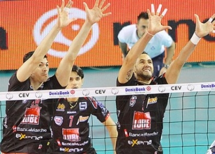 Volley, SuperLega: Modena cade a Trento, Civitanova in testa