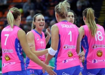 Volley, Champions donne: Piacenza qualificata, Novara quasi fuori