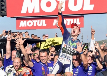 MotoGP, Valencia: Rossi è 4°, Lorenzo Mondiale