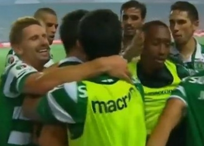 Sporting Lisbona: segna e