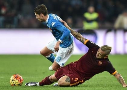 Serie A, Napoli-Roma: formazioni, diretta, pagelle. Live
