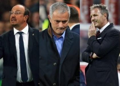 Mourinho-Benitez-Mihajlovic, la panchina scricchiola