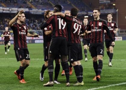 Tim Cup: il Milan respira, 2-0 alla Sampdoria