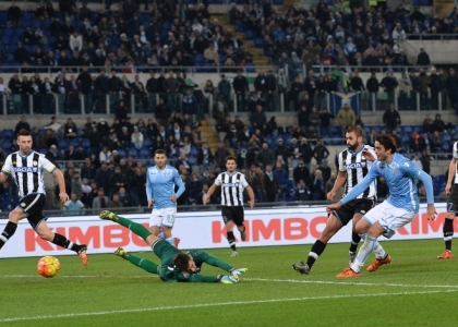 Tim Cup: Lazio-Udinese 2-1, gol e highlights. Video