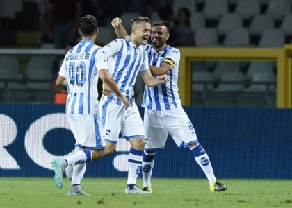 Serie B: Lanciano-Pescara 1-2, gol e highlights. Video