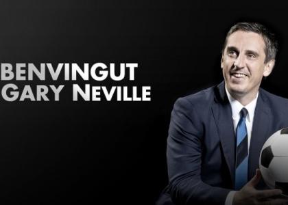 Valencia: Gary Neville è il nuovo tecnico