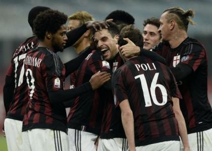 Tim Cup: il Milan soffre il Crotone ma va agli ottavi