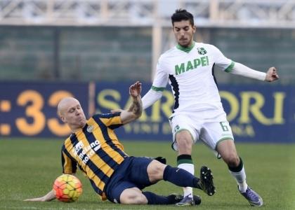 Serie A: Verona-Sassuolo 1-1, le pagelle