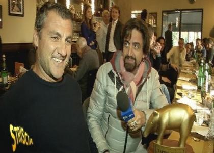 Tapiro d'oro a Christian Vieri: è tornato in Italia per Belen