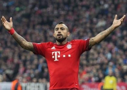 Champions: lampo Vidal, Bayern Monaco di misura