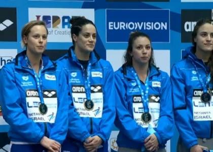 Nuoto, Europei vasca corta: Pellegrini d'oro con la staffetta