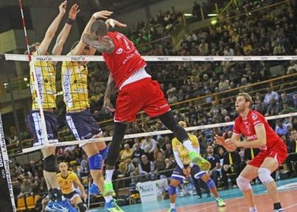 Volley, SuperLega: Modena salda al comando, la Lube insegue