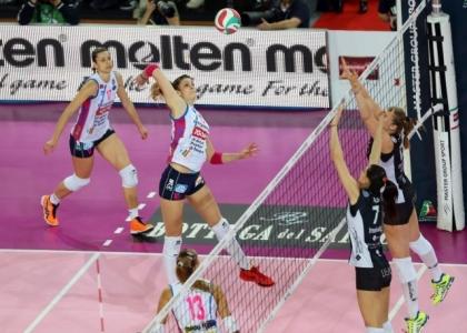 Volley, A1 femminile: Novara, Piacenza e Conegliano partono bene