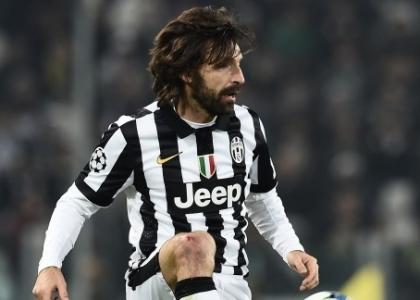 Juventus: Pirlo non ce la fa, niente Borussia