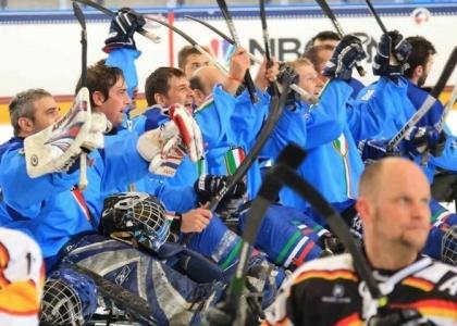 Sledge-hockey su ghiaccio: bravissimi azzurri, quinti al Mondo