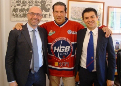 Joe Tacopina incontra l'Hockey Ghiaccio Bologna 1982