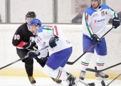 Hockey su ghiaccio: l'Italia sorprende nelle amichevoli