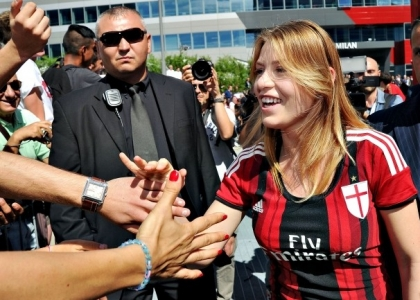 Milan, Barbara Berlusconi: