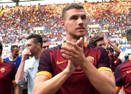 Roma, il ritorno di Dzeko: