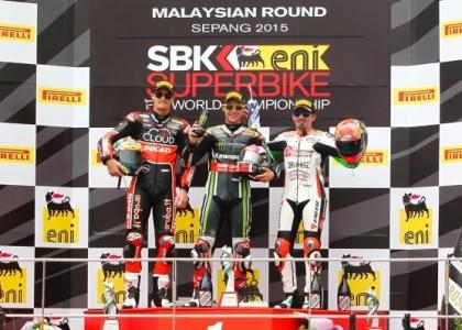 Superbike, Malesia: Rea vede il titolo, Biaggi terzo